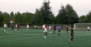 Boys Varsity Soccer suffers disappointment at first home game