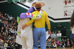Back to school assembly gets students in the spirit