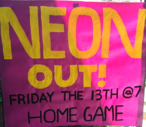 Tigard fans plan to wear neon for Friday's game against Glencoe