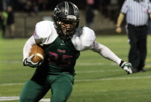 Tigard football outscores Newberg 63-21 on homecoming