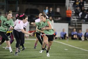 Sophomores claim Powderpuff victory