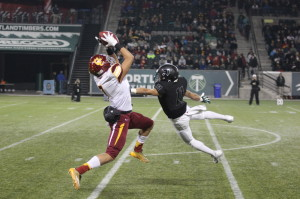Tigard loses to Central Catholic in the O.S.A.A. 6A football semifinals