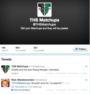 THS Twitter feeds swarm with anonymous accounts