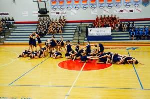 Tigerettes dance to impress
