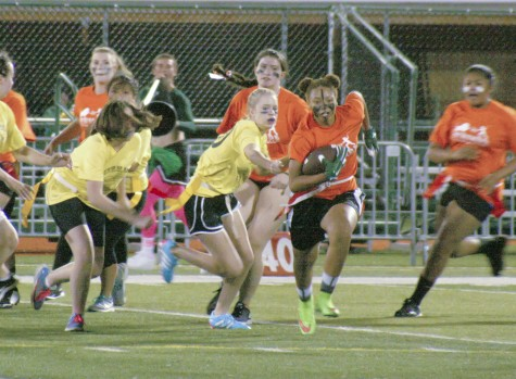 Class of 2016 powder puff threepeat