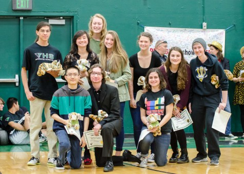 Academic Pride Assembly honors students