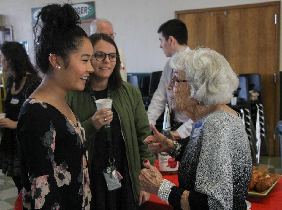 Students bring senior citizen prom full circle