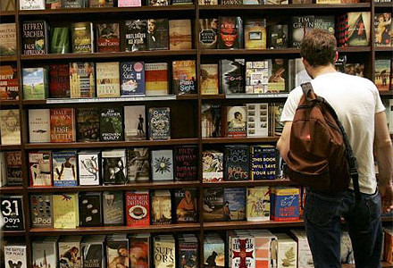 Library sells used books and other media in Book Sale