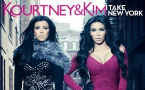 "TV – ""Kourtney and Kim Take New York"" on E!"