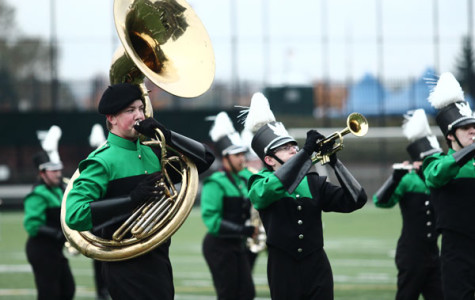 THS marching band takes home a victory