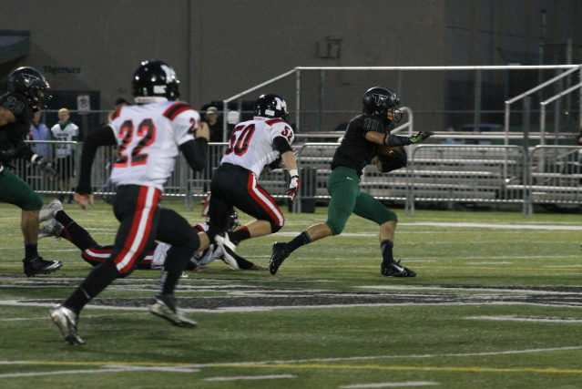 Tigard football performs a 58-0 shut out against McMinnville