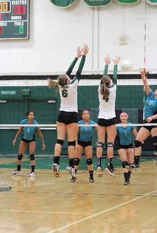 Tigard volleyball crushes the Century Jaguars