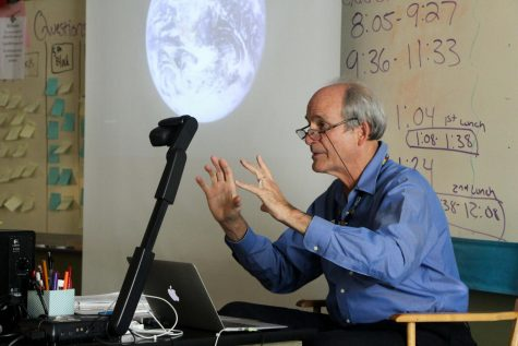 Bill Bradbury talks climate change with Ecology