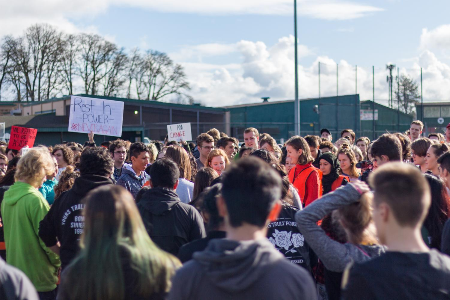 As part of the March 14 student walkout, organizers share a message of solidarity and change.