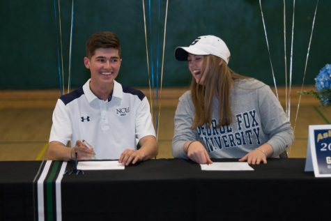 Lauren Paven and Lauren McFall sign letters of intent