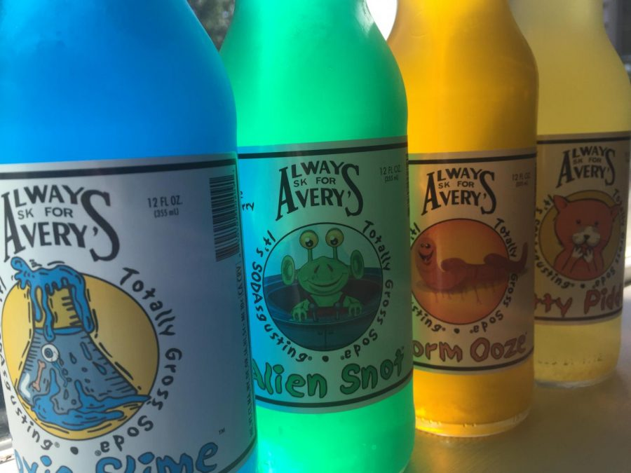 Rocket Fizz offers a variety of sodas flavors with unusual names.