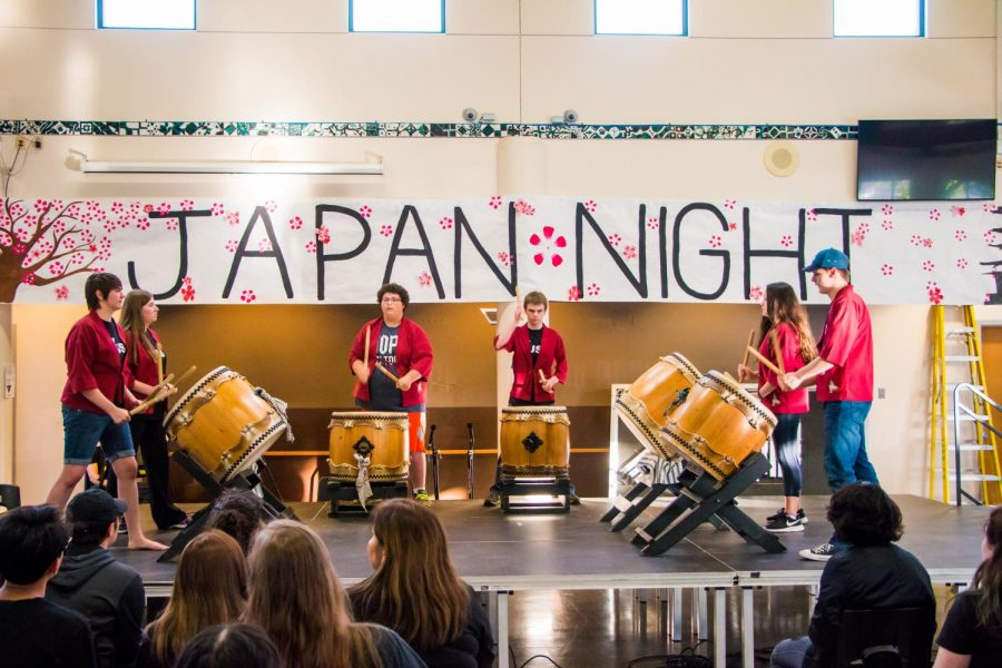 International Night featured some new activities.