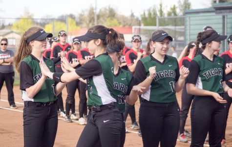THS's Girl's Varsity Softball may be young, but they still had a successful season.