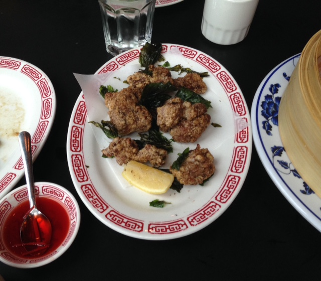 Five spice popcorn chicken is on the share menu at Chinese comfort food restaurant XLB.