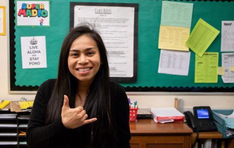 Eljean Madio joined the staff this year. She lived in Hawaii before coming to Oregon.