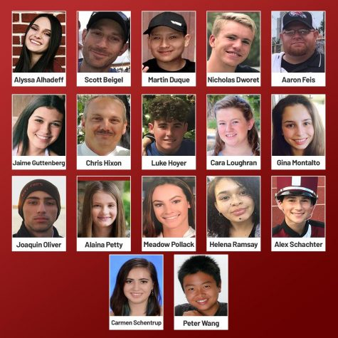 On February 14th, 2018, 17 MSD students and staff lost their lives.