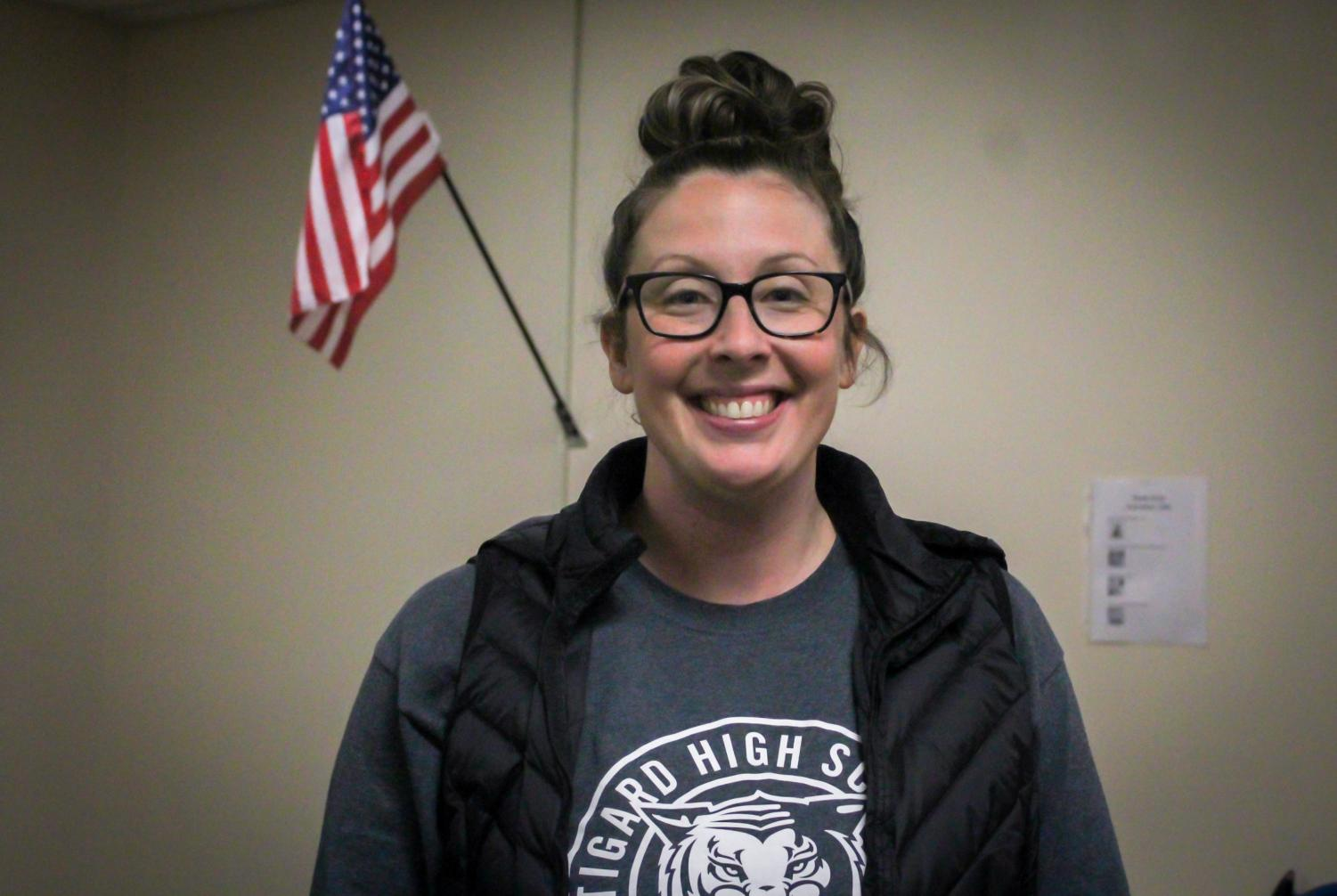 Kelley Brack is an LSA. She began working at Tigard seven years ago.