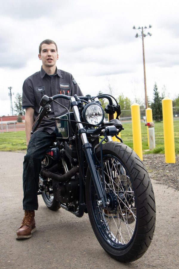 Ryan Vitkoczy graduated from Tigard High in 2014. He took all available Auto Tech classes, then attended vocational school to become a technician. Vitkoczy was the reason Tigard High was chosen to select a student intern. He is now a Class A technician at Paradise Harley-Davidson.