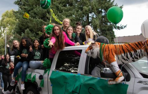 Homecoming Week: Parade rocks community's world
