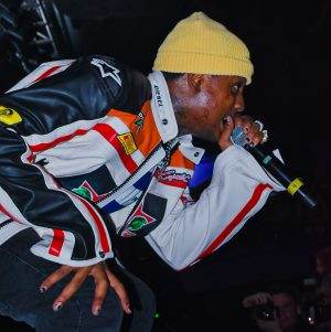 Stokely stuns the crowd at the Roseland Theater in downtown Portland. He preformed such hits as BabyWipe, Take A Step Back, and SAD!, originally preformed by his fallen friend XXXTentacion.