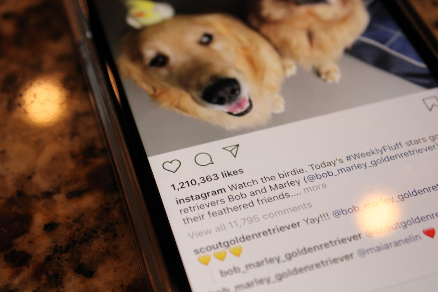 One of Instagram's social media posts, with over 1.2 million likes. Soon, public display of likes will be no more, according to Instagram CEO Adam Mosseri