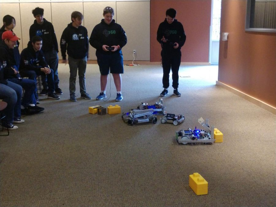 Robotics team lets kids take the wheel