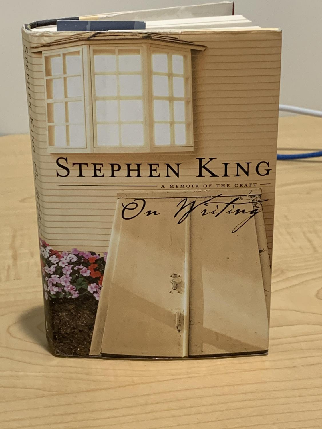 The cover of Stephen King's book