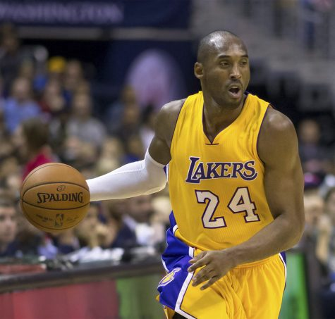 A picture of former LA Lakers