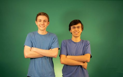 Seniors Aaron Esau and Aaron Jobe placed first in two recent cybersecurity