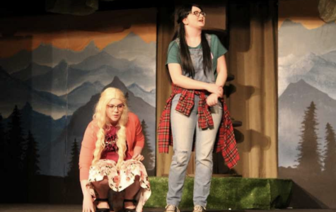 """An image used in the Forest Grove New Times when Banks High School performed """"Walk Two Moons."""