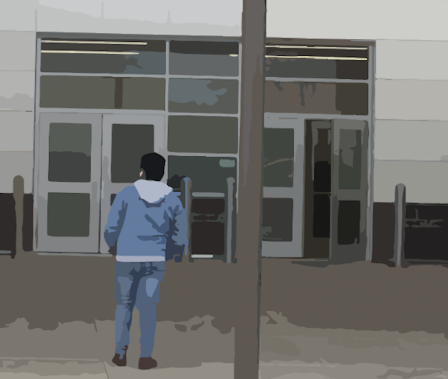 For students who have just immigrated to the U.S., summoning the courage to walk through the school doors can be a challenge. Multicultural Coordinator Gigi Escobar helps them with the transition.