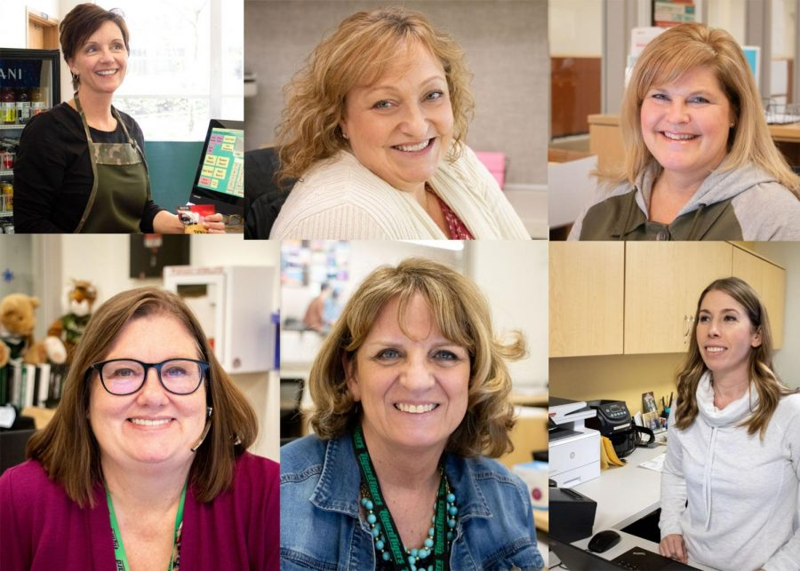It's Classified Staff Appreciation Week. Secretaries, learning specialists, cafeteria staff, and custodians work behind the scenes to keep the school running.