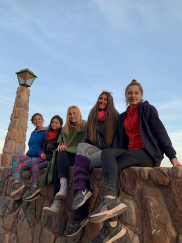 Sophie Fenton and her friends in Argentina enjoy a fun day of exploring the city. They visited Jujuy on vacation in late July 2019.