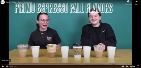 Megan Cavanagh brings students the flavors of fall. She wrote about and taste tested a series of fall coffee shop flavors.